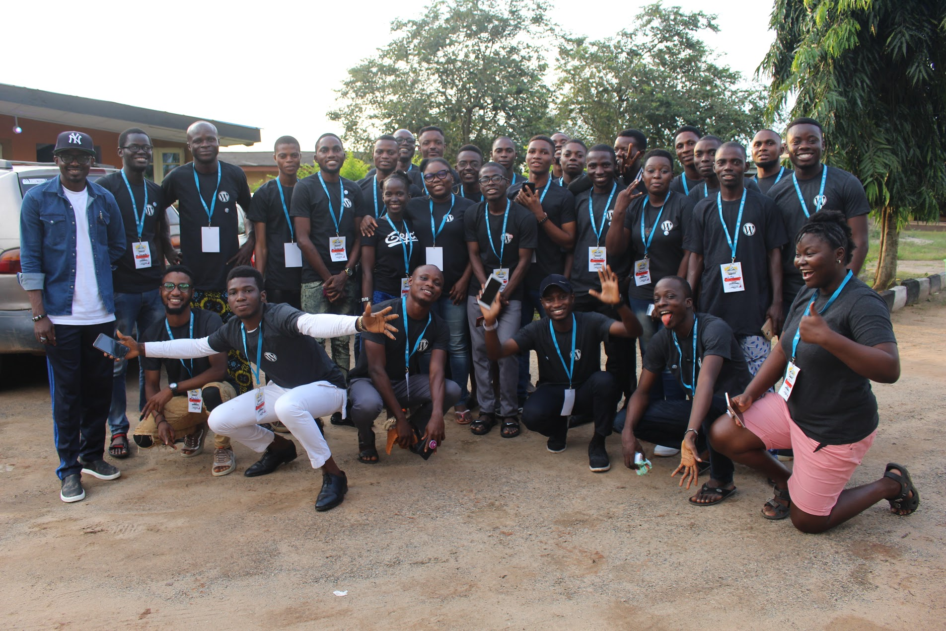 Group Picture do_action hackathon Ijebu 2019
