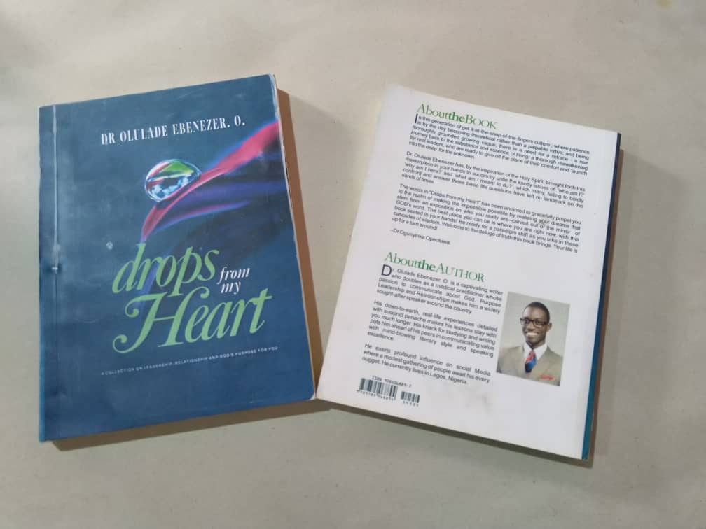Dr.Olulade - Drops from my heart book