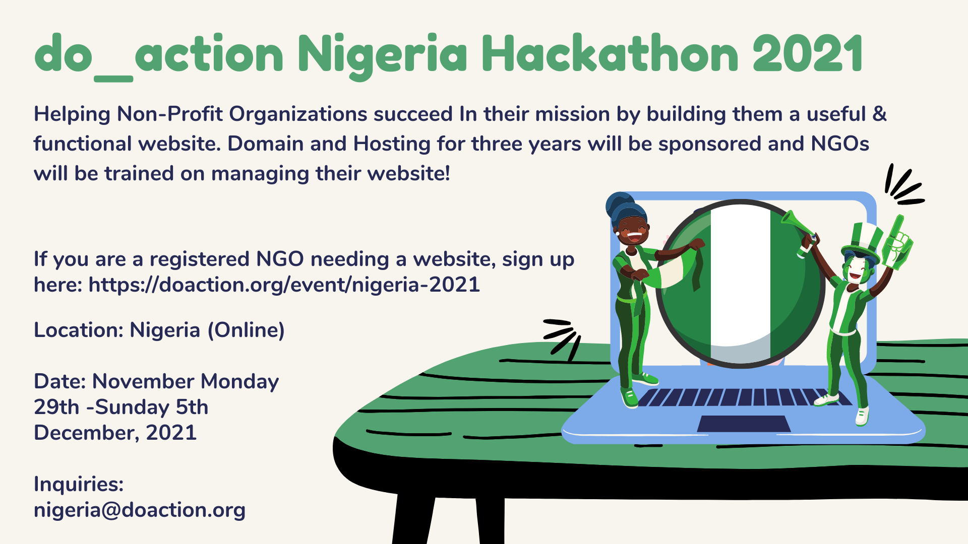 do_action Nigeria 2021
